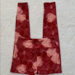 LulaRoe Women's Heart Pattern Super Soft Leggings